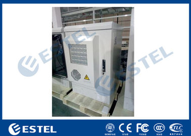 Temperature Control Steel Outdoor Telecom Cabinet 19 Inch  For Base Station